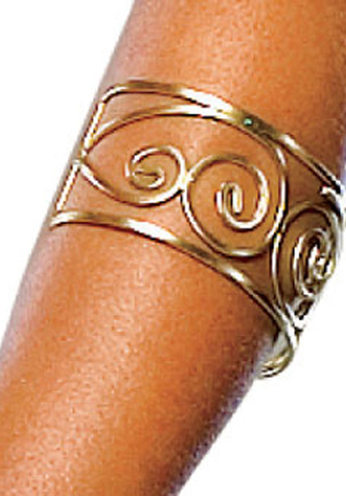 300 Queen Arm Cuff Fancy Dress Accessory