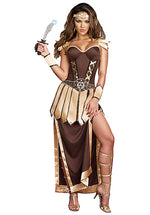 Remember The Trojans Costume, Ladies Fancy Dress