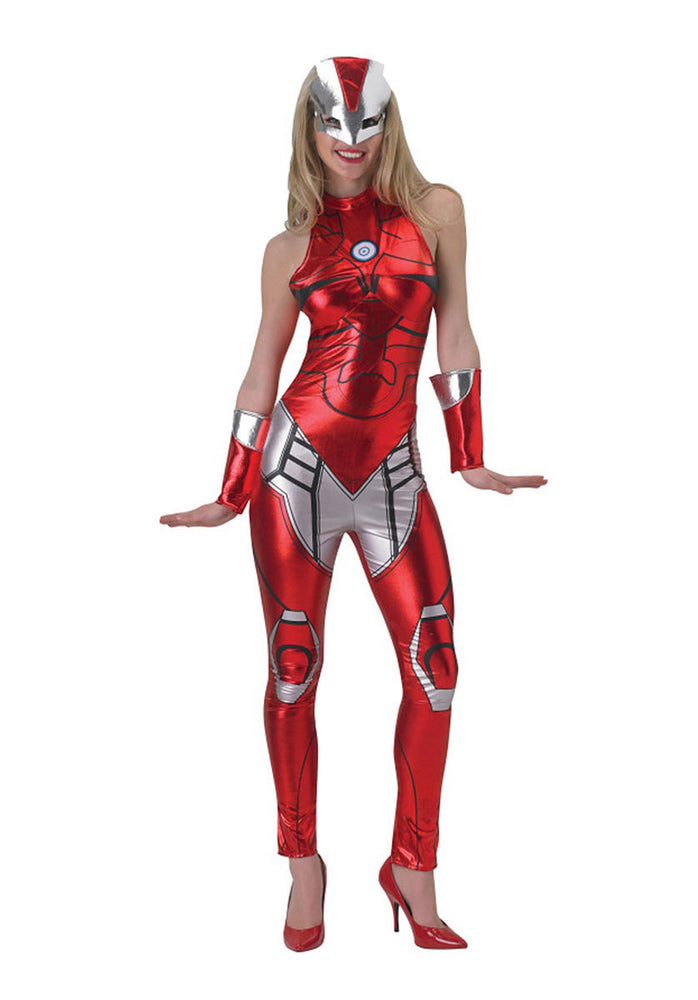 Adult Rescue Costume, Iron Man Fancy Dress