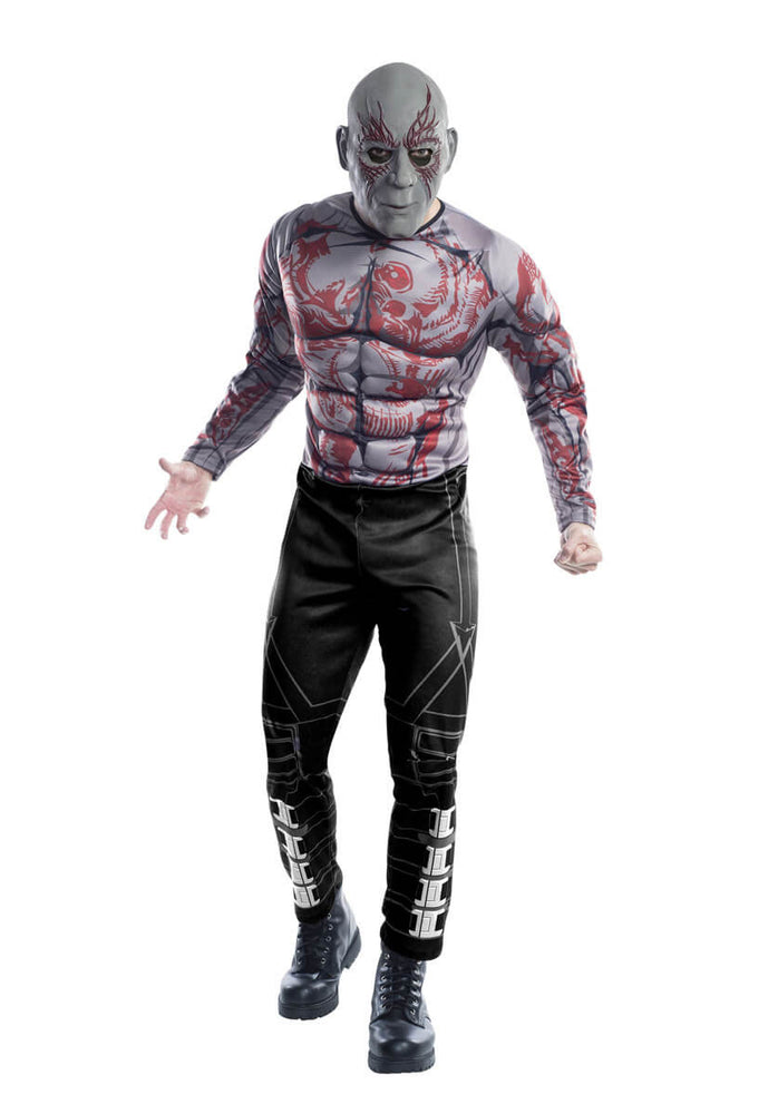 Drax Deluxe Muscle Chest Costume