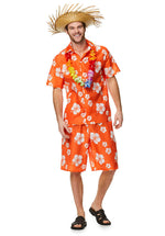 Hawaiian Luau Men's Costume