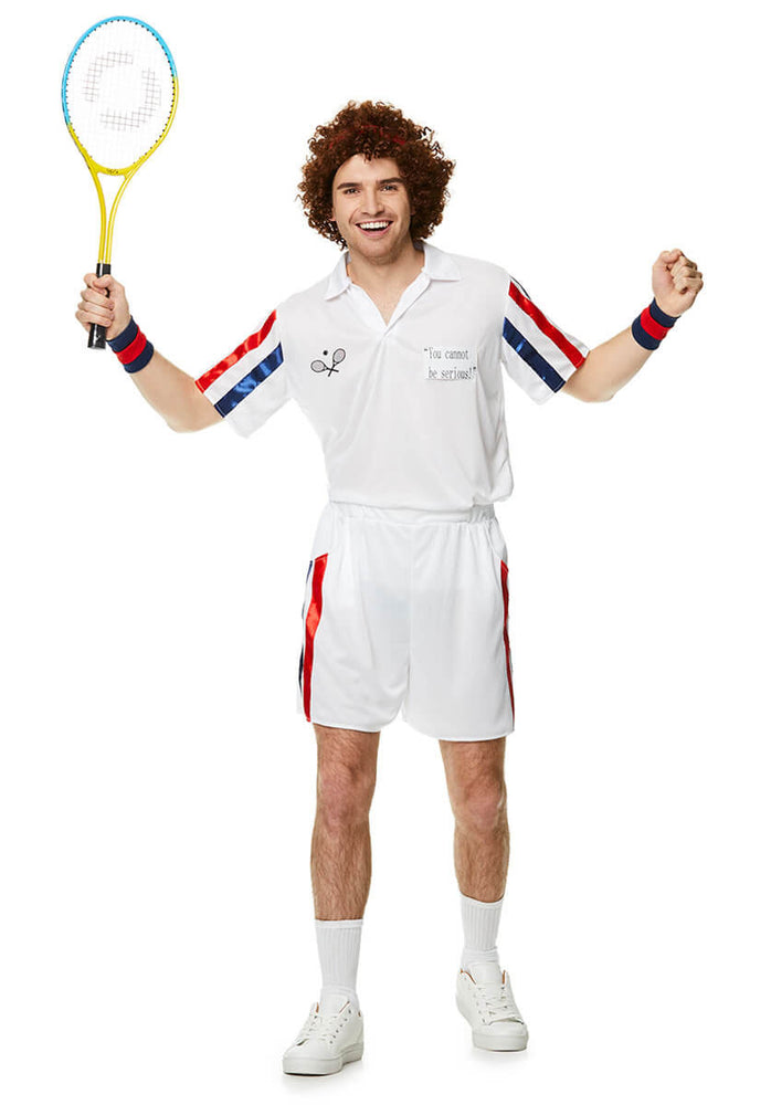 80's Tennis Player Costume