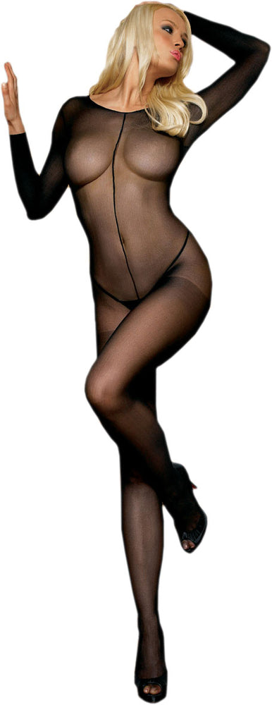 Bodystocking - Black Sheer, Leg Avenue™