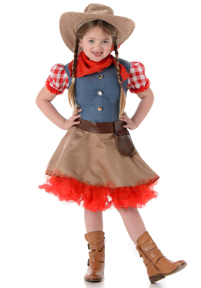 Rodeo Cowgirl Child Costume