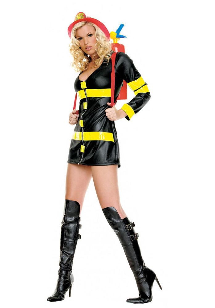 Fire Woman Costume, Leg Avenue™