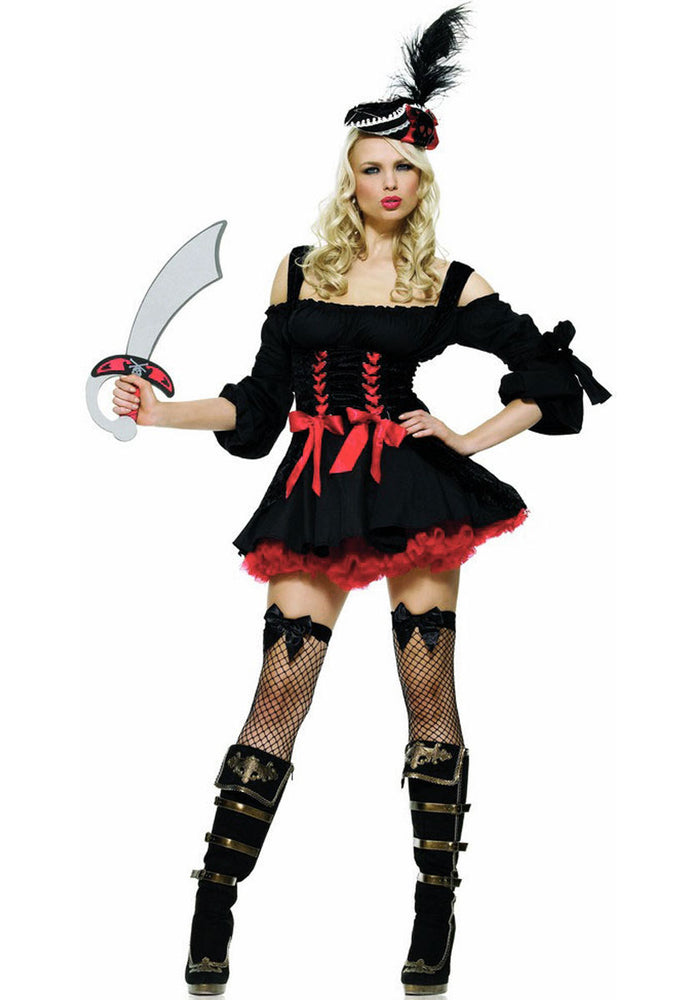 Pirate Wench Costume - Leg Avenue