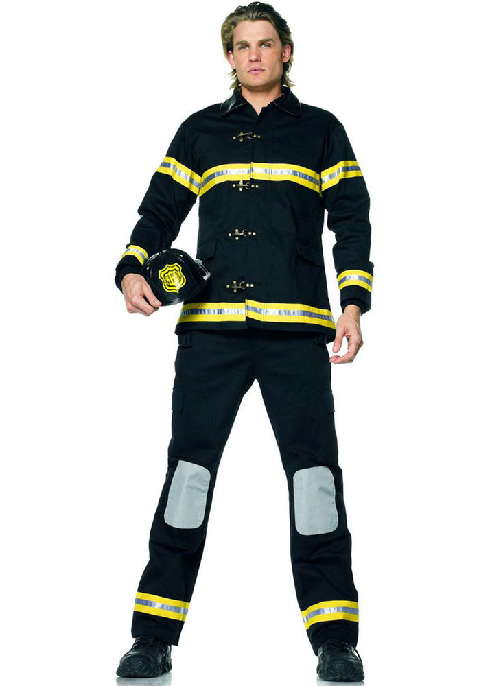 Fireman Costume, Leg Avenue™ Occupation Fancy Dress