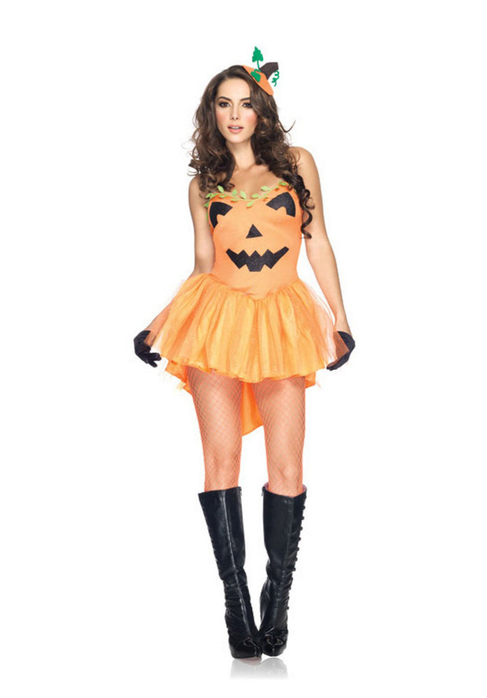 Pumpkin Princess Costume, Leg Avenue