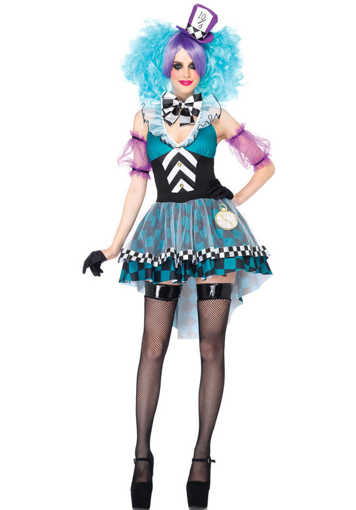 Manic Mad Hatter Costume, Leg Avenue