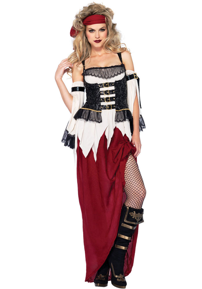 Ladies Buried Treasure Beauty Costume by Leg Avenue
