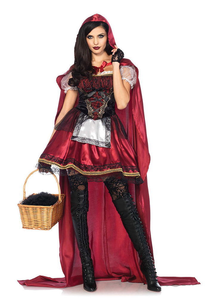 Captivating Red Riding Hood Costume