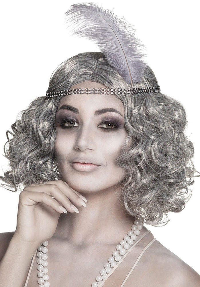 Flapper Ghost Wig