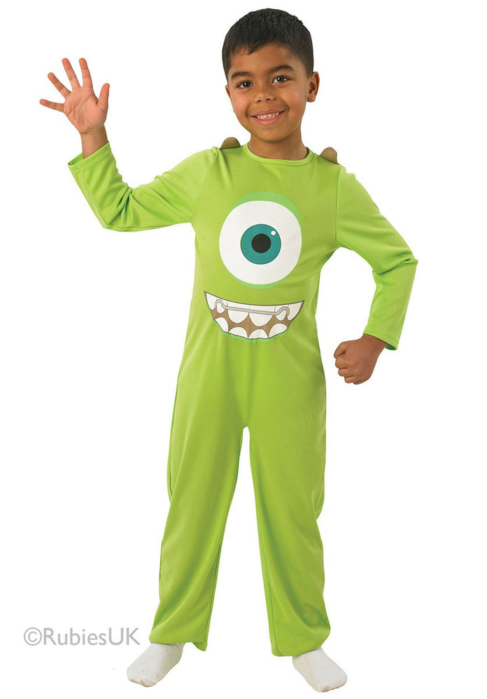 Child Mike Costume, Classic Monsters University Fancy Dress