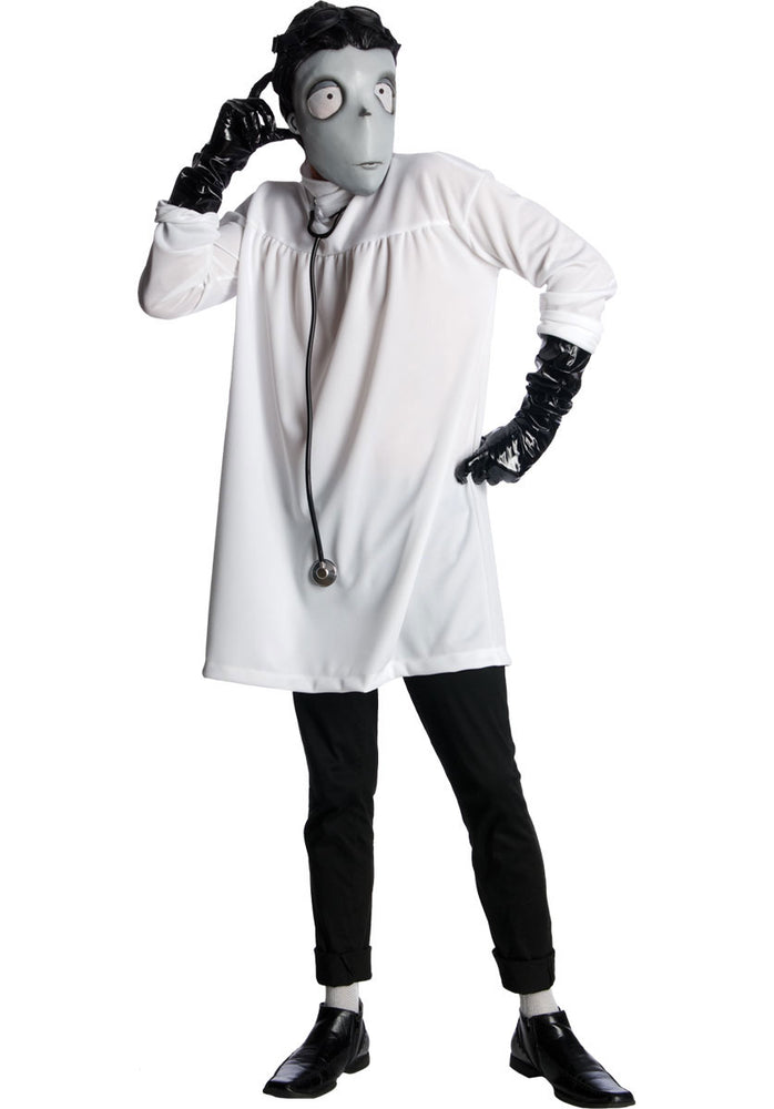Adult Victor Frankenstein Costume, Frankenweenie Fancy Dress