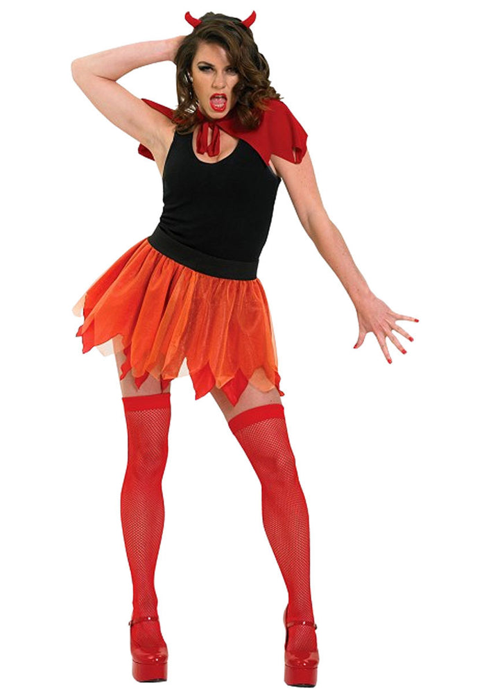 Devil Tutu Set, Ladies Fancy Dress