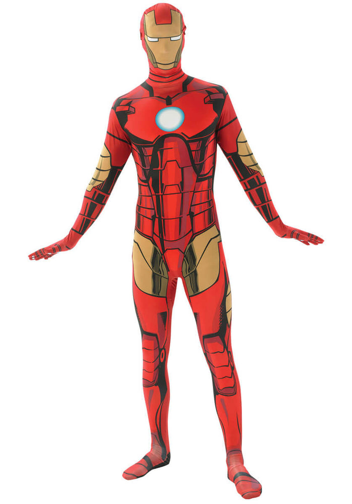 Iron Man 2nd Skin Costume, Iron Man Fancy Dress
