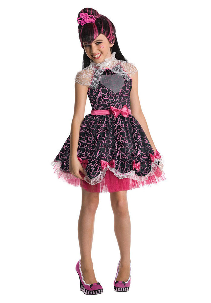 Kids Draculaura Monster High Costume, Sweet 1601