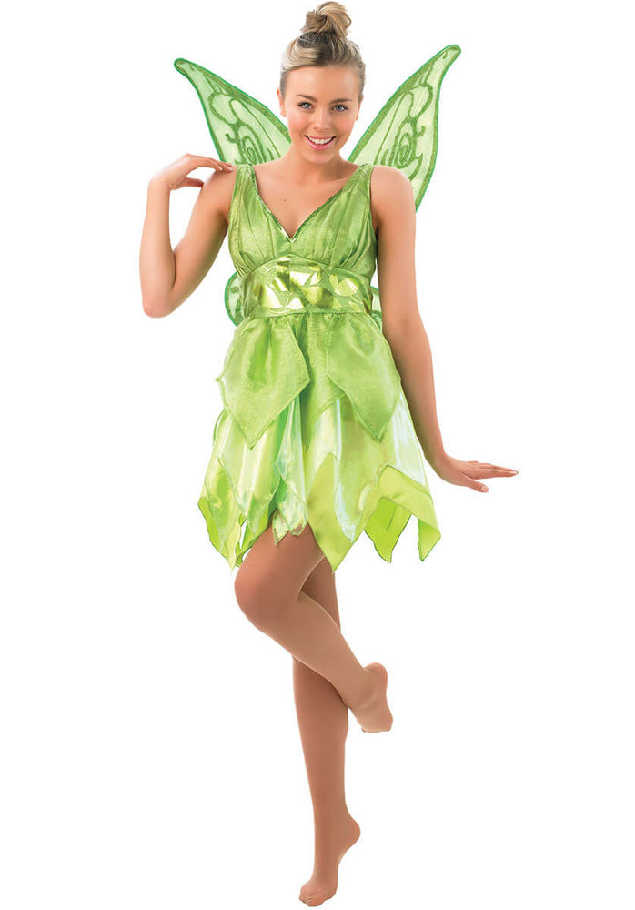 Adult Tinker Bell Costume, Disney Fancy Dress