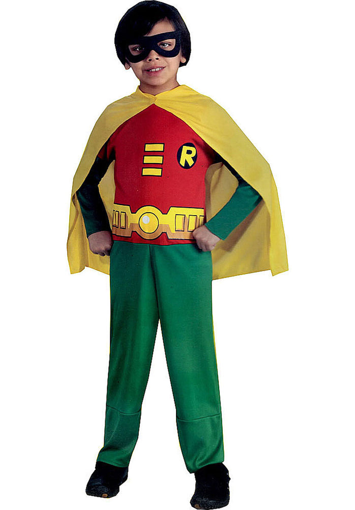 Kids Robin Costume, Teen Titans Fancy Dress - DC Comics