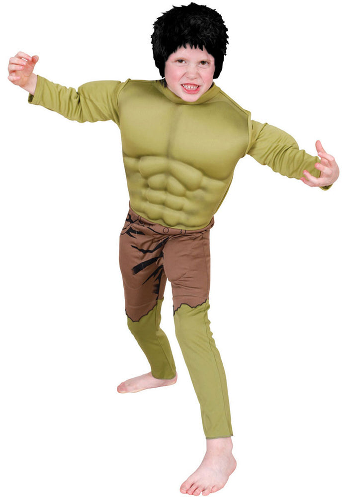 Hulk Deluxe Muscle Costume - Child