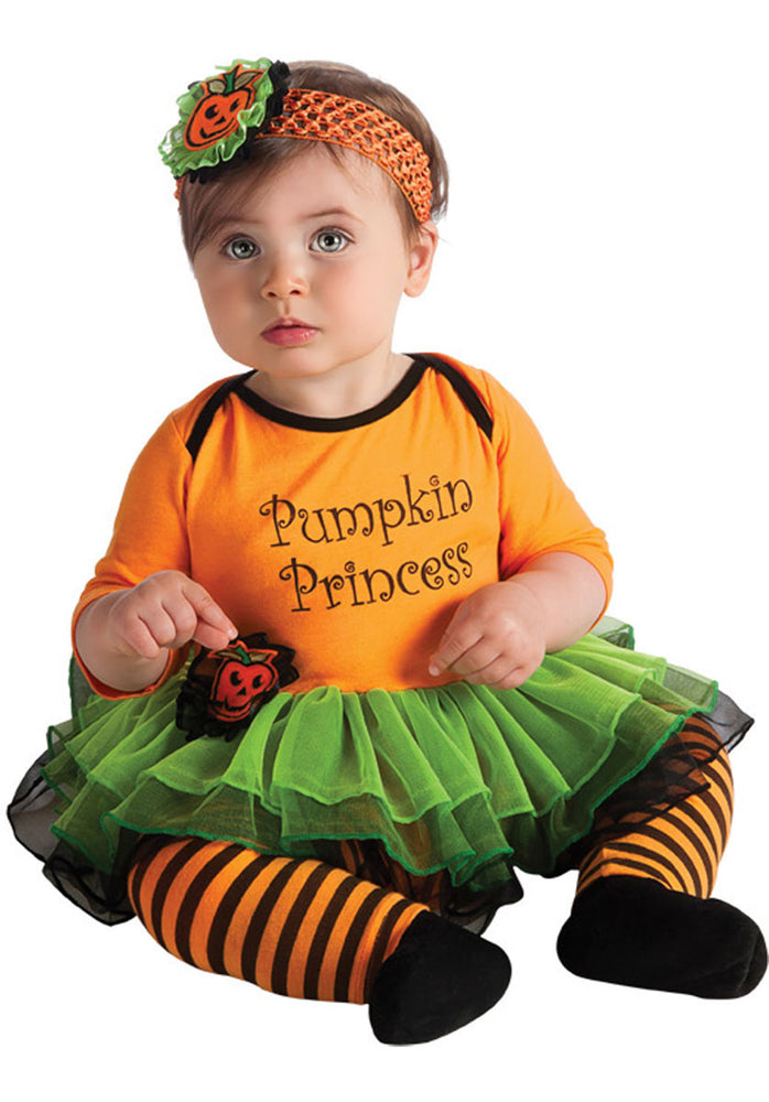 Pumpkin Princess Costume, Newborn & Infant Halloween Outfit