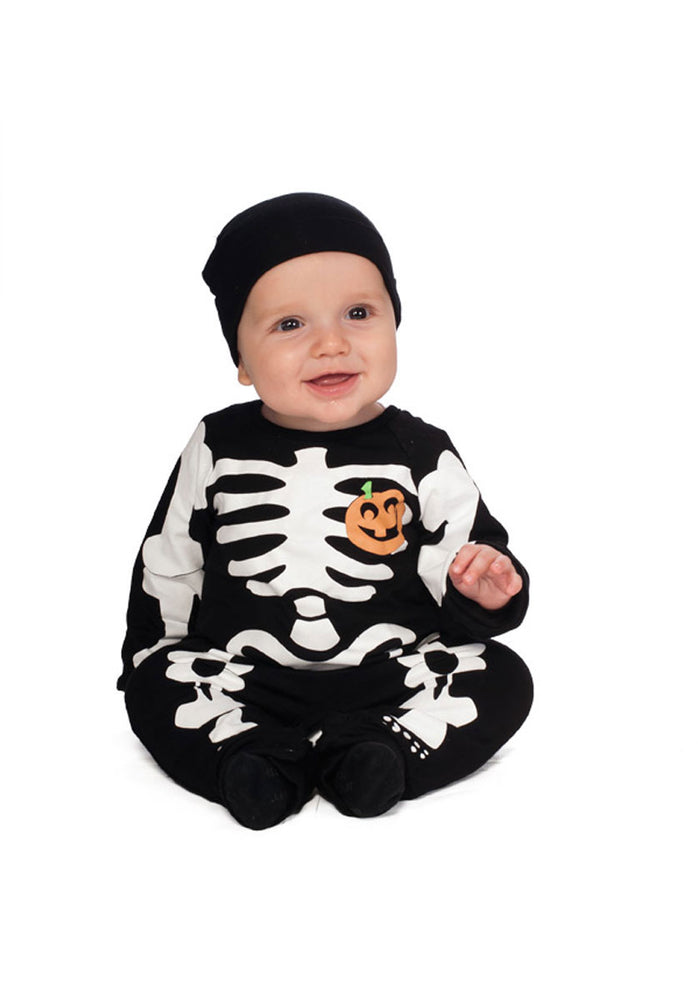 Black Skeleton Costume for Infants & Newborns
