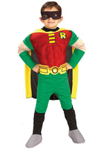 Robin Muscle Chest Child Costume, DC Comics