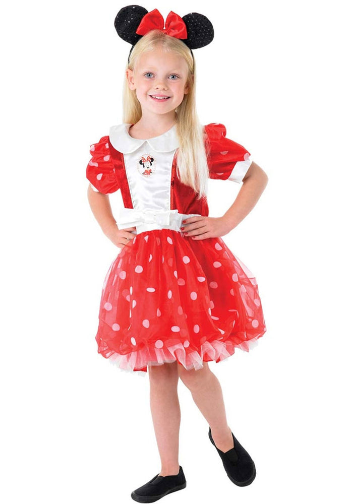 Puff Ball Minnie Mouse Child Costume