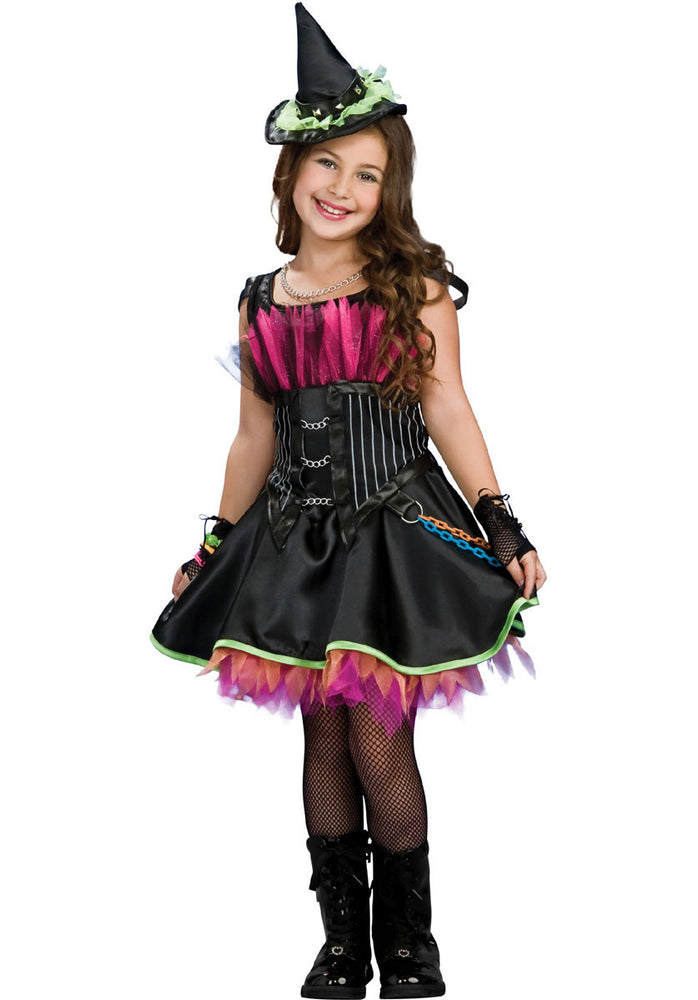 Rockin' Out Witch Costume - Child