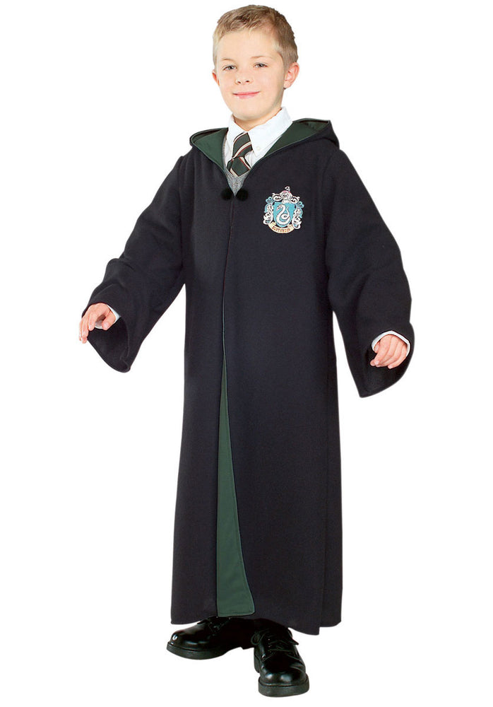 Kids Slytherin Robe, Deluxe Harry Potter Fancy Dress