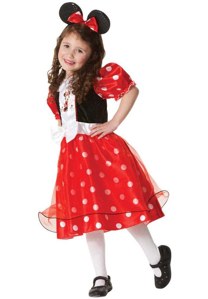 Disney Polka Dot Minnie Mouse Costume - Child