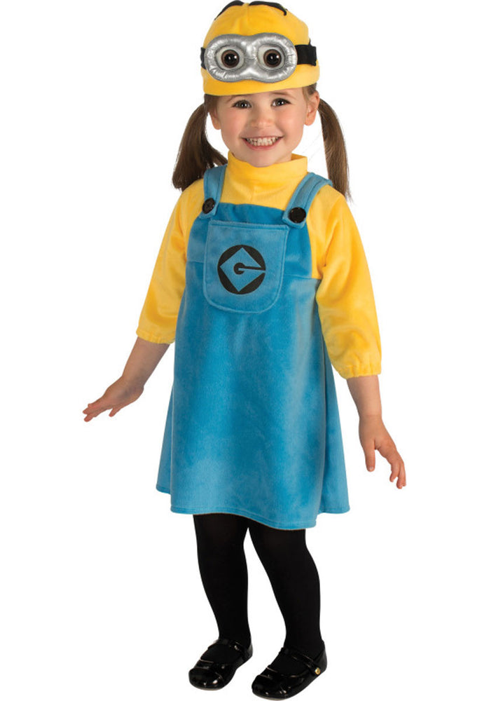 Toddler & Infant Minion Girl Costume, Despicable Me 2