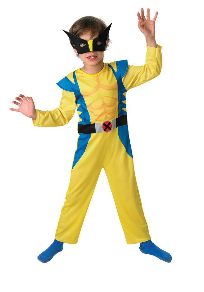 Kids Wolverine Costume, Classic X-Men Costume