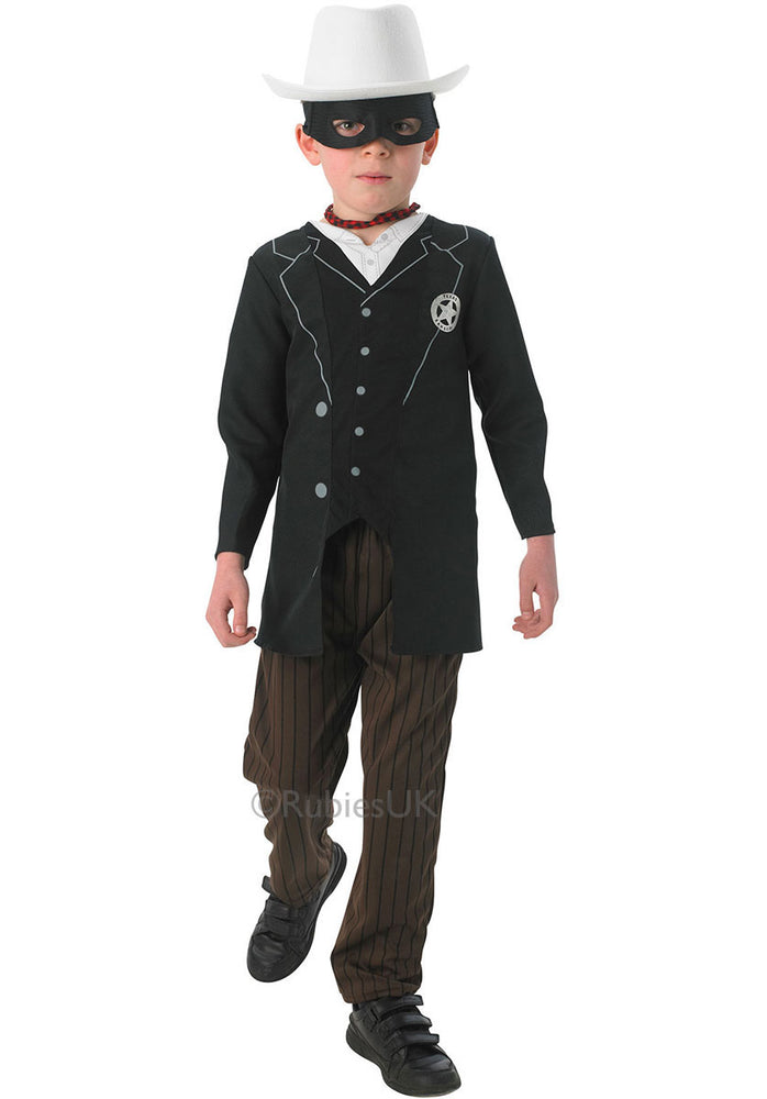 Kids Lone Ranger Costume, Lone Ranger Official Fancy Dress