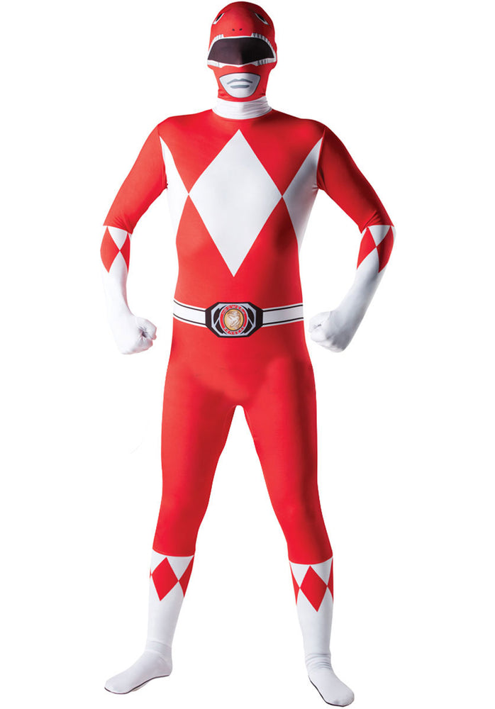 Power Rangers Costume, Second Skin Fancy Dress