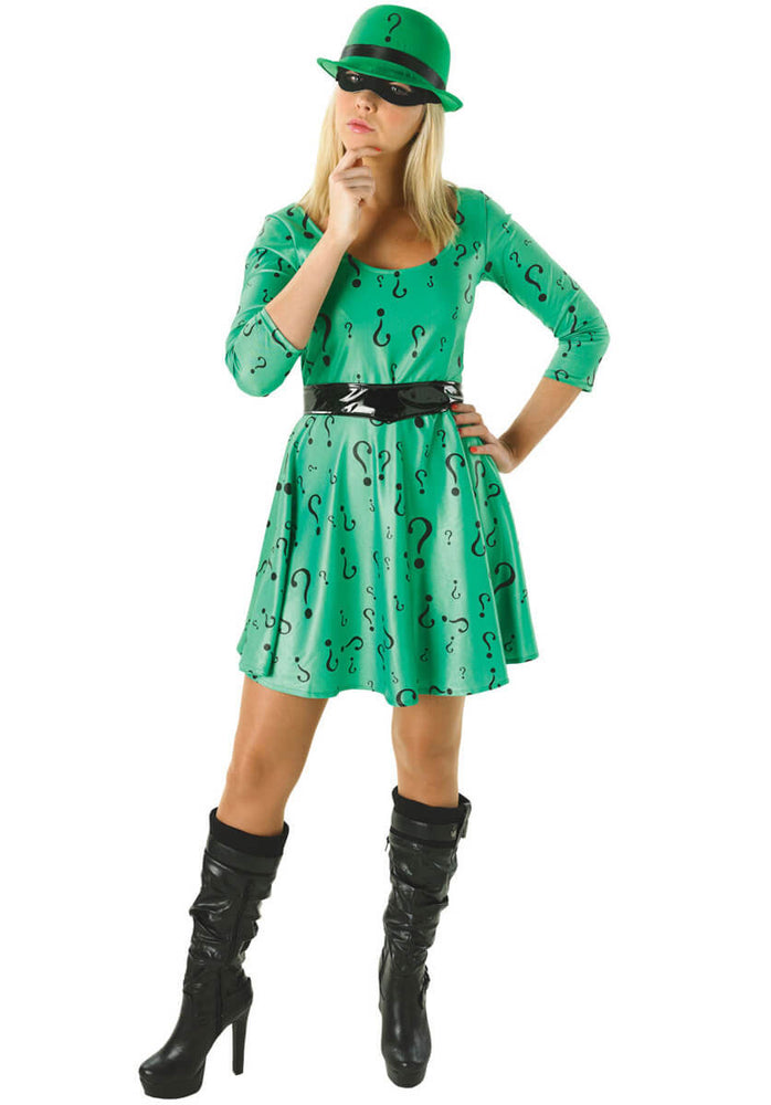 Ladies Ladies Riddler Costume