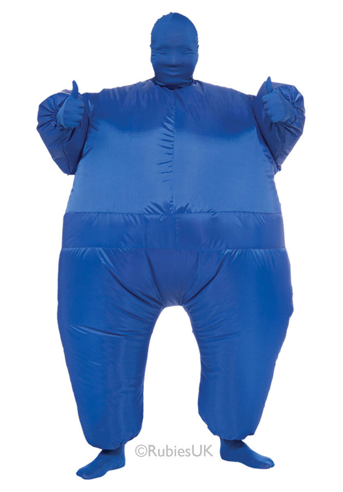Inflatable Blue Costume, Fun Inflatable Fancy Dress