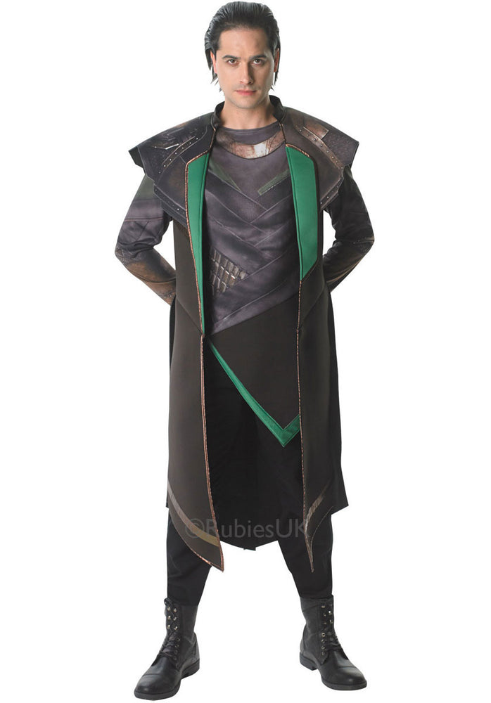 Loki Costume, Official Thor 2 Fancy Dress
