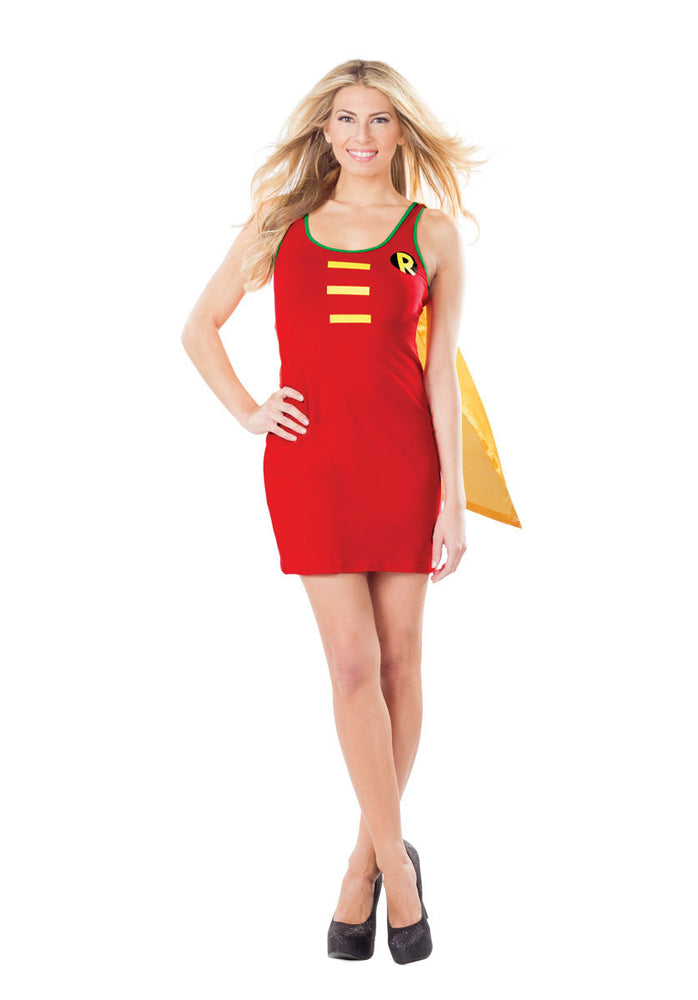 Ladies Robin Dress, Batman and Robin Fancy Dress