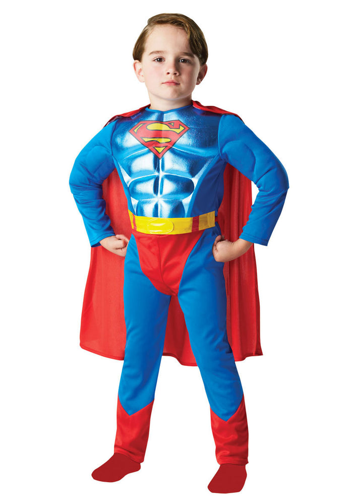 Kids Superman Costume with Metallic Chest