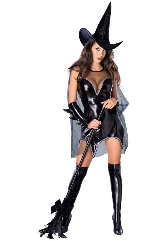 Witch Fancy Dress - Black Magic Moment Costume