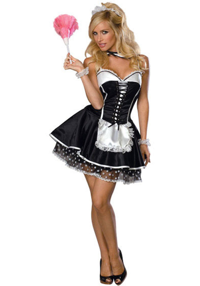 Sexy French Maid Costume, Secret Wishes™, Occupation Fancy Dress