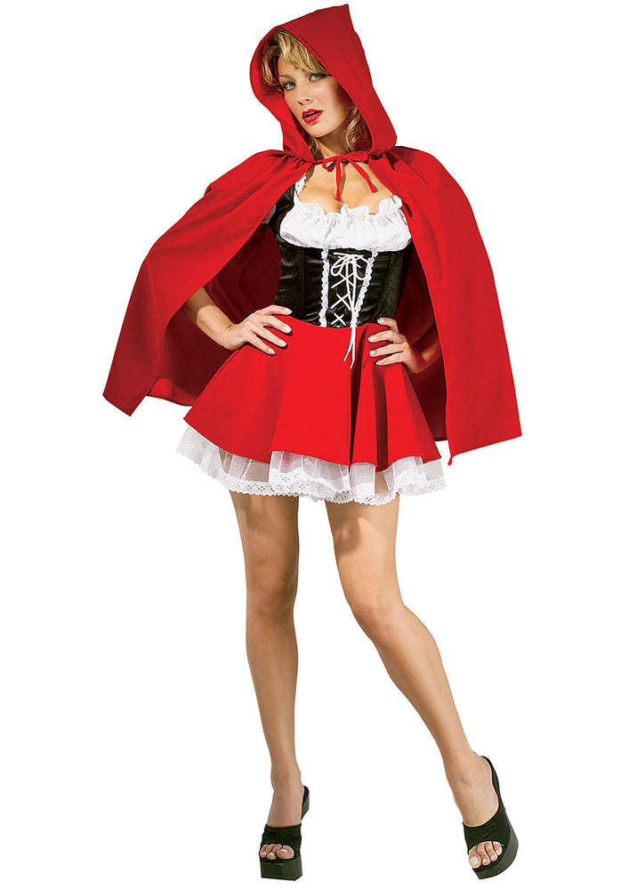 Red Riding Hood Costume, Deluxe Fairy Tale Fancy Dress