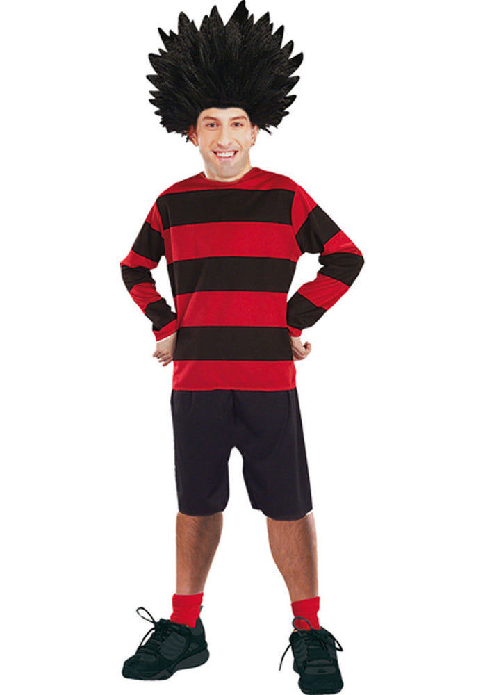 Dennis The Menace Costume, Beano Comic Book Fancy Dress