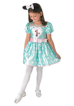 Kids Mint Minnie Mouse Cupcake Costume Deluxe
