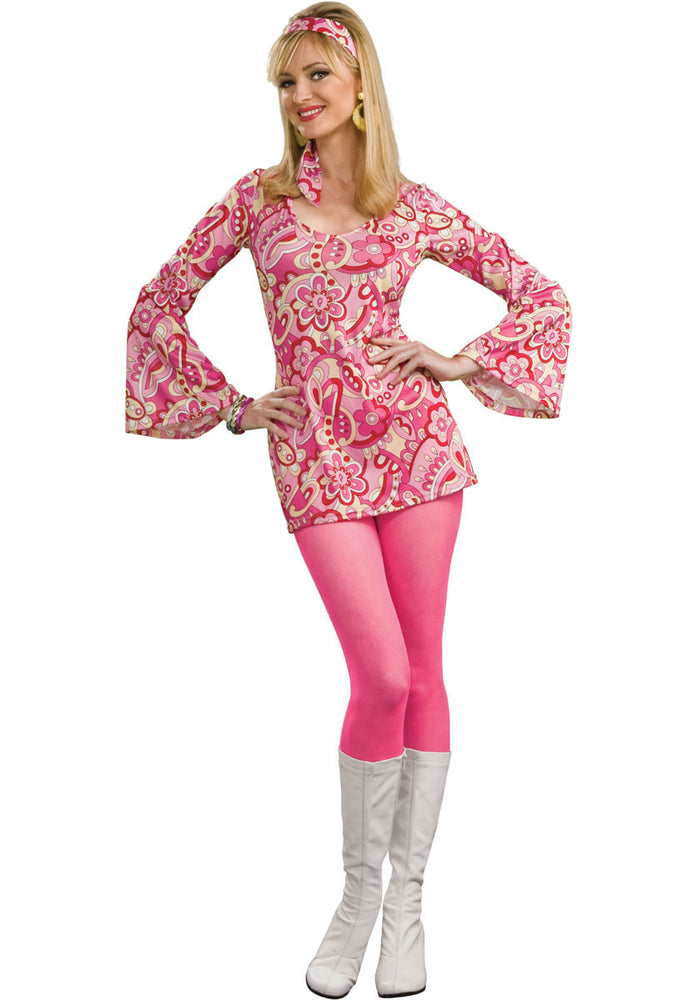Flower Power Go-Go Costume