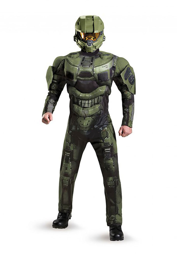Halo Master Chief Deluxe Muscle Costume