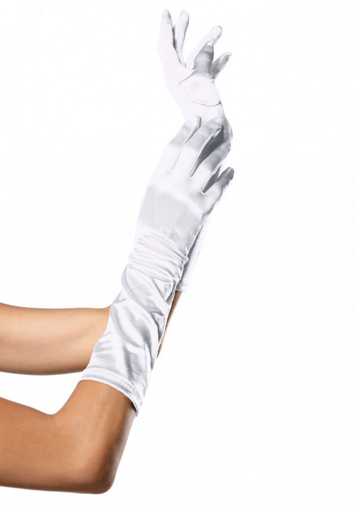 Satin Long Gloves Leg Avenue™
