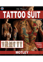 Tinsley Special Effect Bodysuit Tattoo Print Motley Design