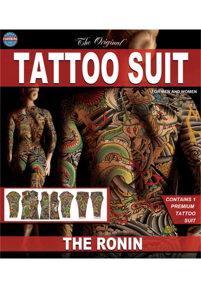 Tinsley Special Effect Bodysuit Tattoo Print Ronin Design